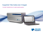 Sapphire™ Biomolecular Imager - The next generation of laser-based imaging